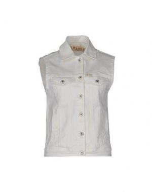 Джинсовая верхняя одежда ITALOGY. Цвет: белый