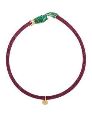 Ожерелье LA HORMIGA. Цвет: пурпурный