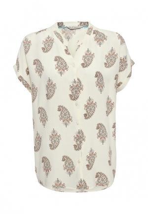 Блуза Sela. Цвет: бежевый