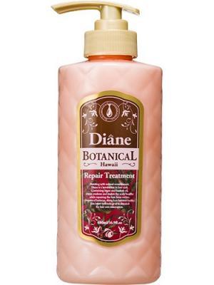 Бальзам для волос Moist Diane Botanical Damage Repairing. Природное восстановление. Series. Цвет: розовый