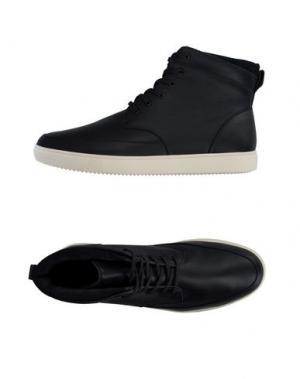 Высокие кеды и кроссовки CLAE. Цвет: темно-синий