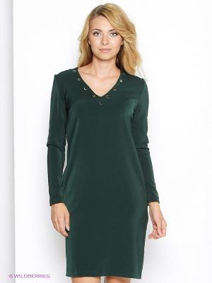 Платье Культ платья BRACEGIRDLE. Цвет: темно-зеленый