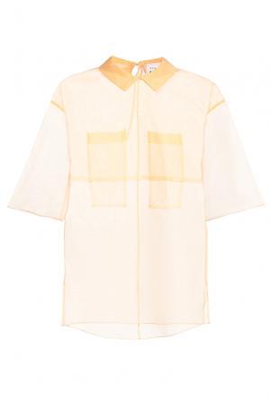 Блуза из шелка PG-180645 Studia Pepen. Цвет: бежевый