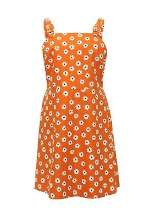 Платье Dorothy Perkins. Цвет: оранжевый