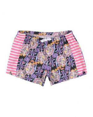 Повседневные шорты CUSTO GROWING. Цвет: фиолетовый