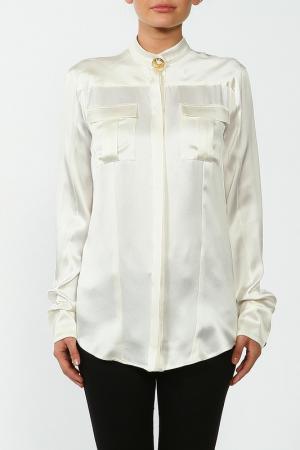 Блуза Balmain. Цвет: белый
