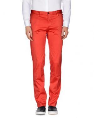 Повседневные брюки PERFECTION. Цвет: красный