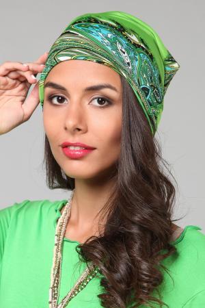 Шапка Lak Miss. Цвет: зеленый