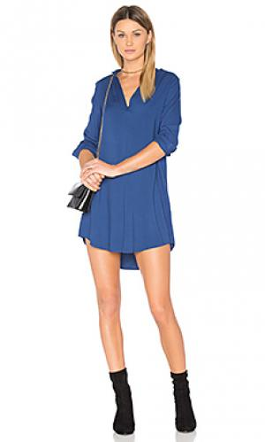 Мини платье parley BB Dakota. Цвет: синий