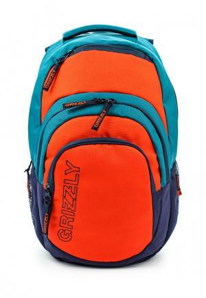 Рюкзак Grizzly. Цвет: разноцветный