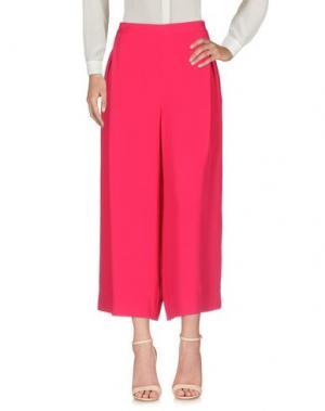Повседневные брюки ANNIE P.. Цвет: фуксия