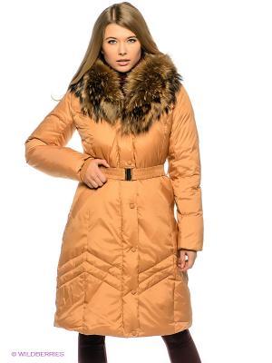 Пальто Baon. Цвет: горчичный