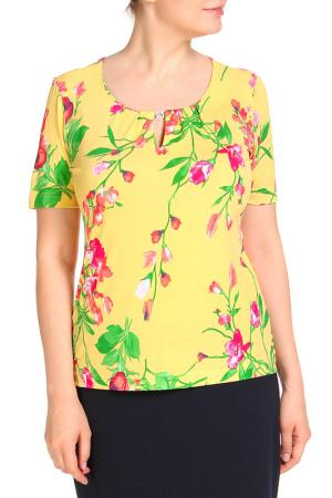 Блуза COUTURE LINE. Цвет: желтый