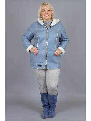 Куртка NadiN. Цвет: светло-голубой