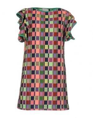 Короткое платье MARIUCCIA. Цвет: розовый