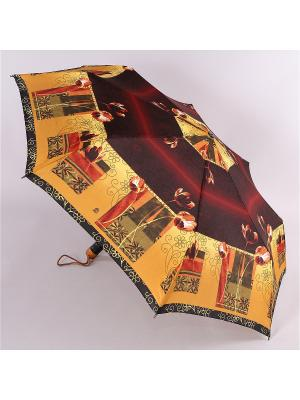 Зонт Airton. Цвет: темно-бордовый, горчичный