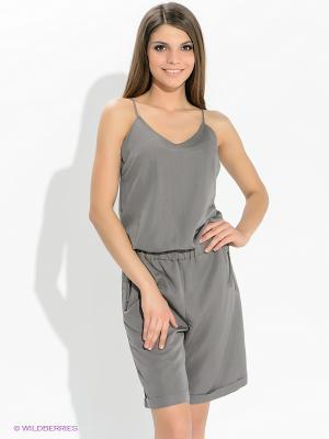 Комбинезон Vero moda. Цвет: серый
