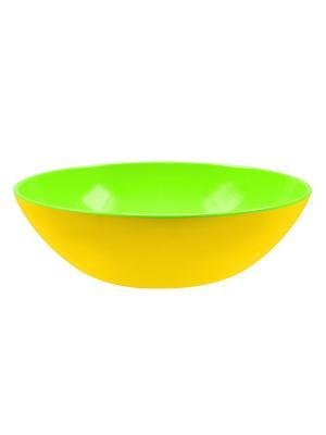 Миска салатная Zak!designs. Цвет: желтый, салатовый