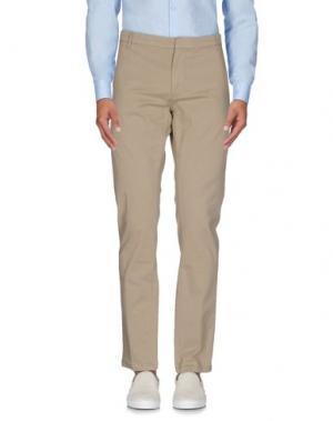 Повседневные брюки INDIVIDUAL. Цвет: бежевый
