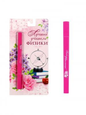 Ручка шариковая Bizon. Цвет: малиновый