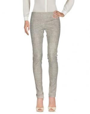 Повседневные брюки JAY AHR. Цвет: светло-серый
