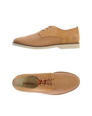 Обувь на шнурках POINTER. Цвет: охра