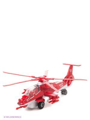 Вертолет Пожарная служба Технопарк. Цвет: красный