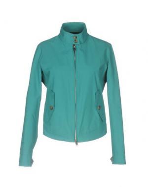 Куртка BARACUTA. Цвет: цвет морской волны