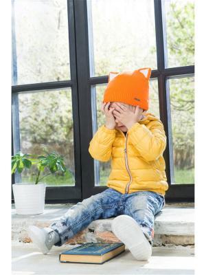 Шапка SHUMI DESIGN. Цвет: рыжий, оранжевый