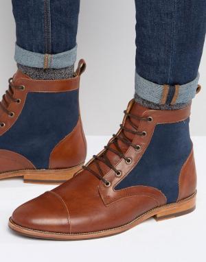 Bobbies Ботинки на шнуровке Le Luthier. Цвет: коричневый