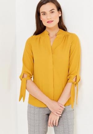 Блуза Dorothy Perkins. Цвет: желтый