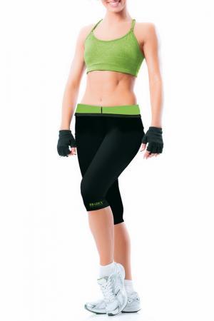 Леггинсы для похудения BRADEX. Цвет: зеленый