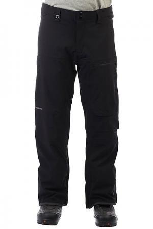 Штаны сноубордические  Tr Stretch Black Quiksilver. Цвет: черный