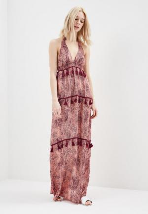 Платье пляжное womensecret women'secret. Цвет: розовый