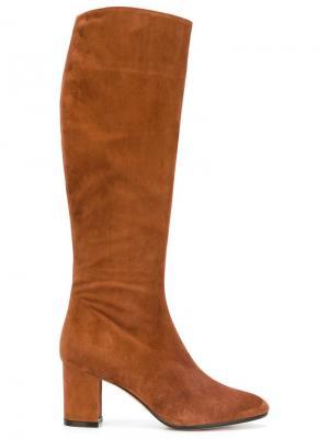 Сапоги на каблуке Jean-Michel Cazabat. Цвет: коричневый