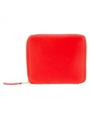 Кошелек Colour Plain Comme Des Garçons Wallet. Цвет: жёлтый и оранжевый