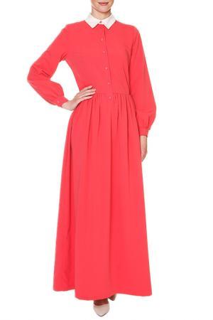 Платье макси SWEETME TM. Цвет: красный
