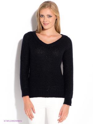 Пуловер GUESS. Цвет: темно-синий