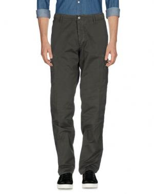Повседневные брюки AVIO. Цвет: свинцово-серый