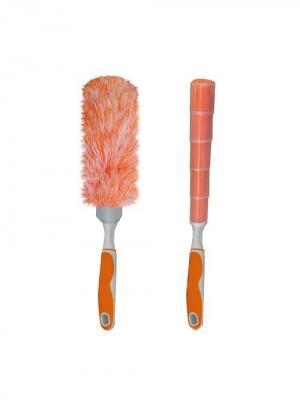 Щетки для уборки МультиДом. Цвет: оранжевый