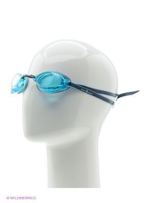 Стартовые очки Turbo Racer II Mad Wave. Цвет: голубой, черный