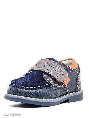 Ботинки Flamingo. Цвет: темно-синий, серый
