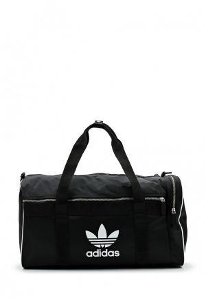 Сумка спортивная adidas Originals. Цвет: черный