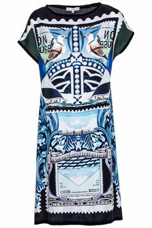 Платье Mary Katrantzou. Цвет: черный