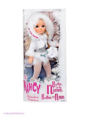 Кукла Нэнси Зимняя красавица Famosa. Цвет: кремовый, белый