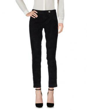 Повседневные брюки BYDANIE. Цвет: черный