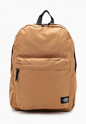 Рюкзак Dickies. Цвет: коричневый