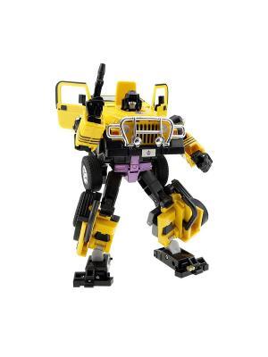 Робот, Трансформер Собирается в Джип XXL Склад Уникальных Товаров. Цвет: желтый