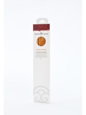 Парфюмерные палочки Корица и специи, 6 шт SERENE HOUSE. Цвет: оранжевый