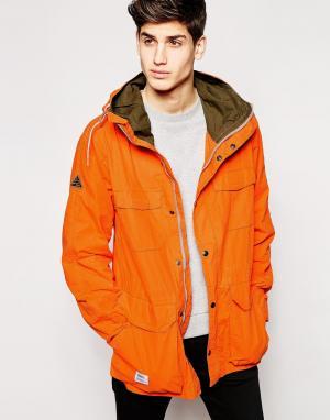 Addict Куртка. Цвет: оранжевый